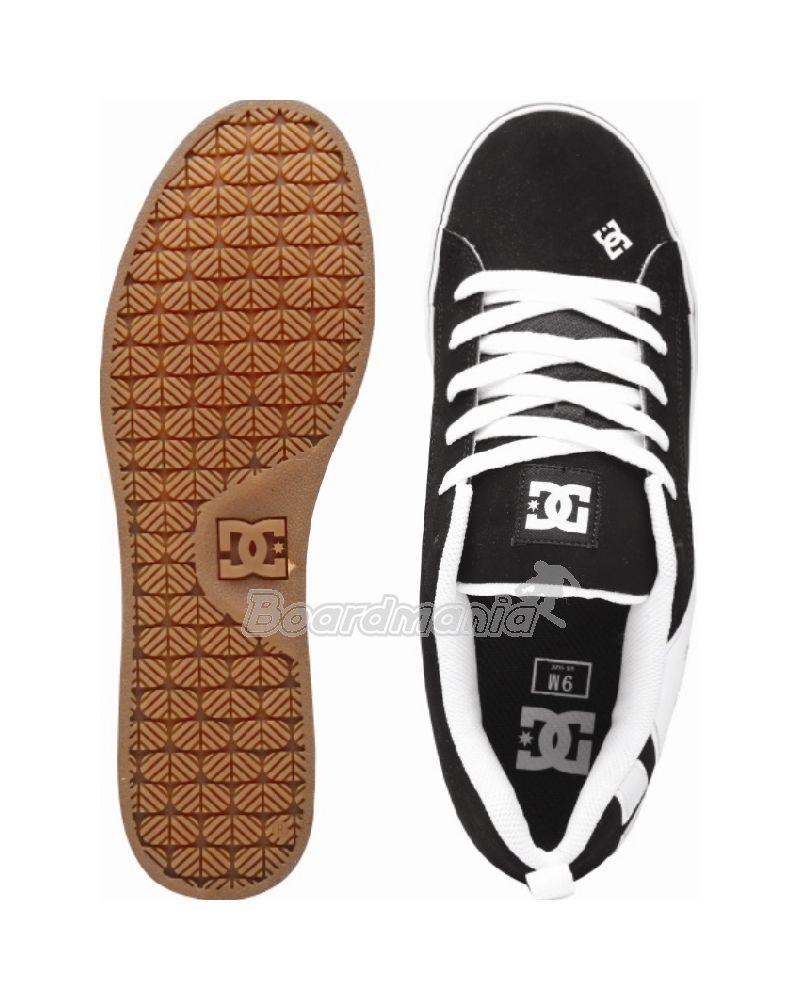 Boty DC Court Vulc black white First Skateshop.cz 2fbae6509a