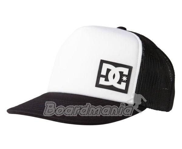Kšiltovka DC Blanderson white black First Skateshop.cz 4c8231c362