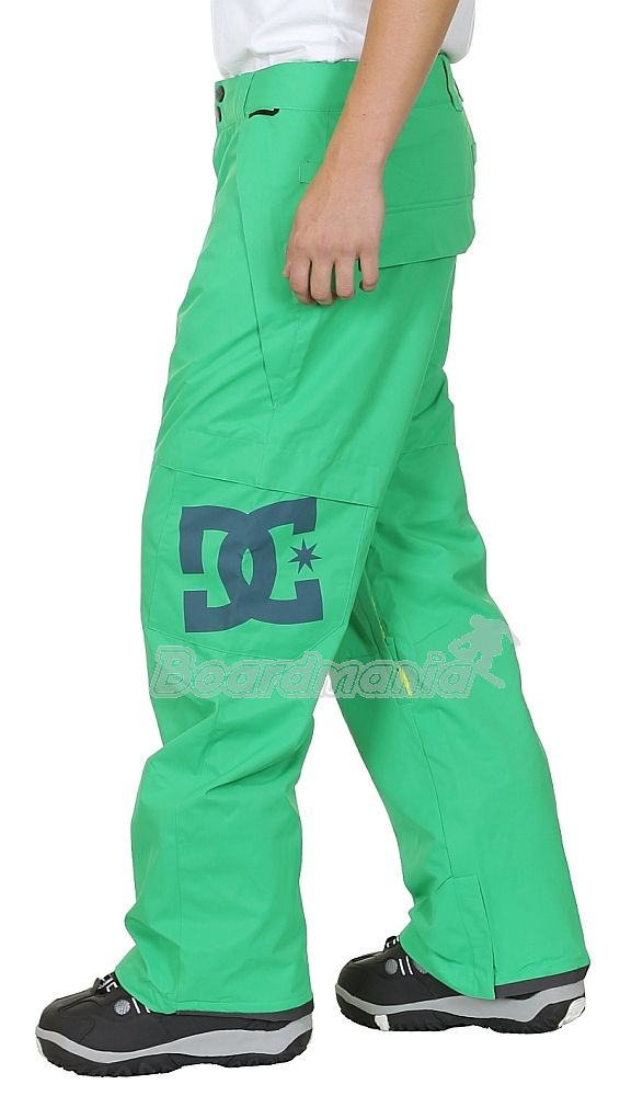 Snowboardové kalhoty DC Banshee emerald First Skateshop.cz b98c79a39f