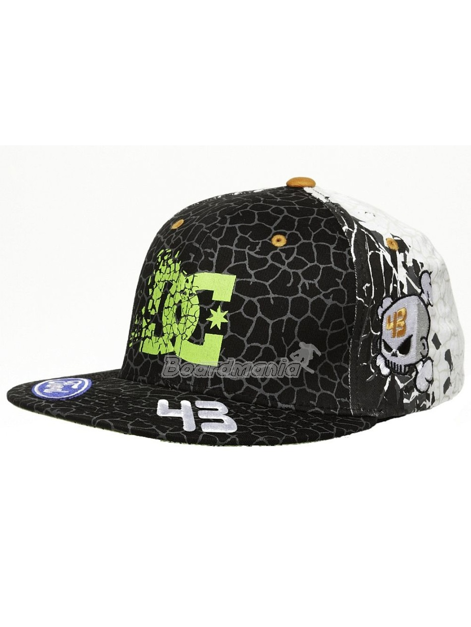 Kšiltovka DC Cracked Hat M Hats First Skateshop.cz 2dabd07220