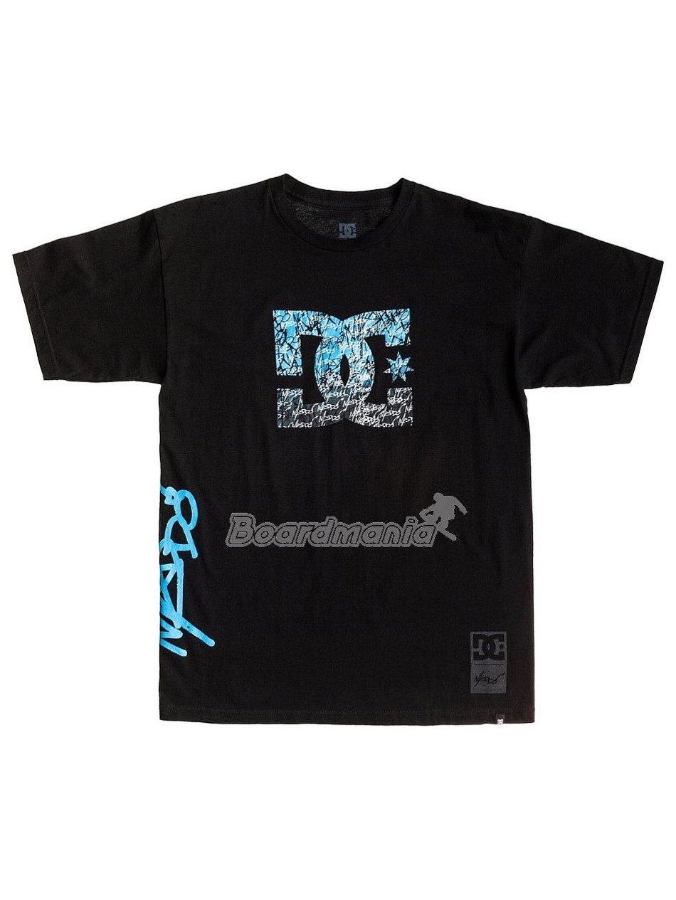 60c57d47e49 Pánské tričko DC RM Madstar black First Skateshop.cz