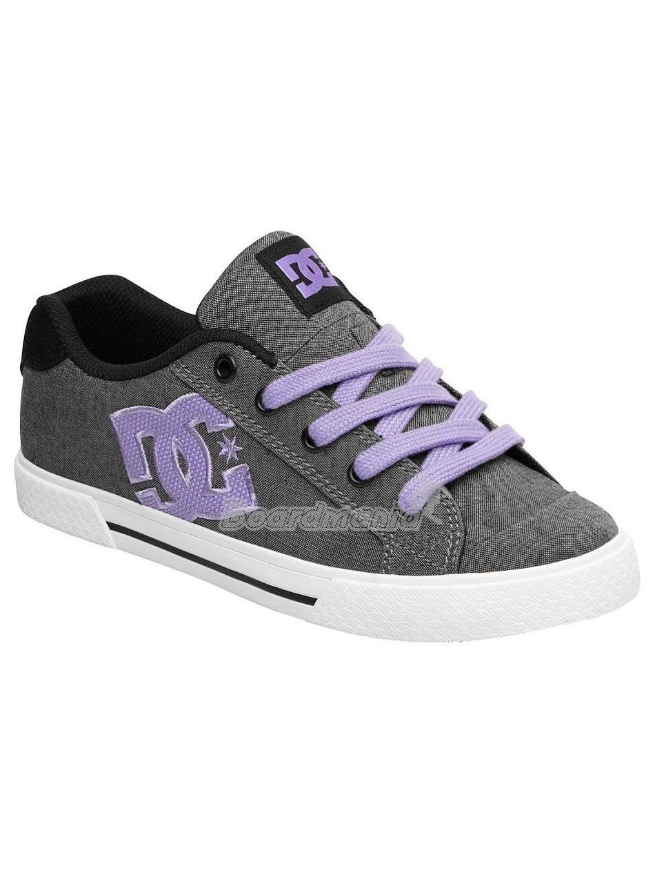 Boty DC Chelsea black lavender First Skateshop.cz 4a11cfbd6c