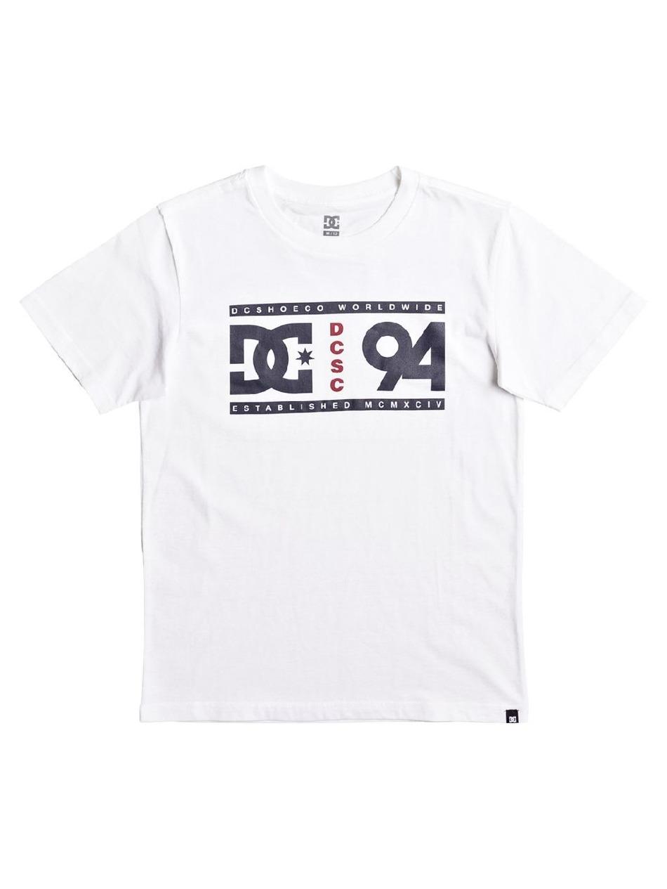 Pánské tričko DC Alley snow white First Skateshop.cz e71921d9d2
