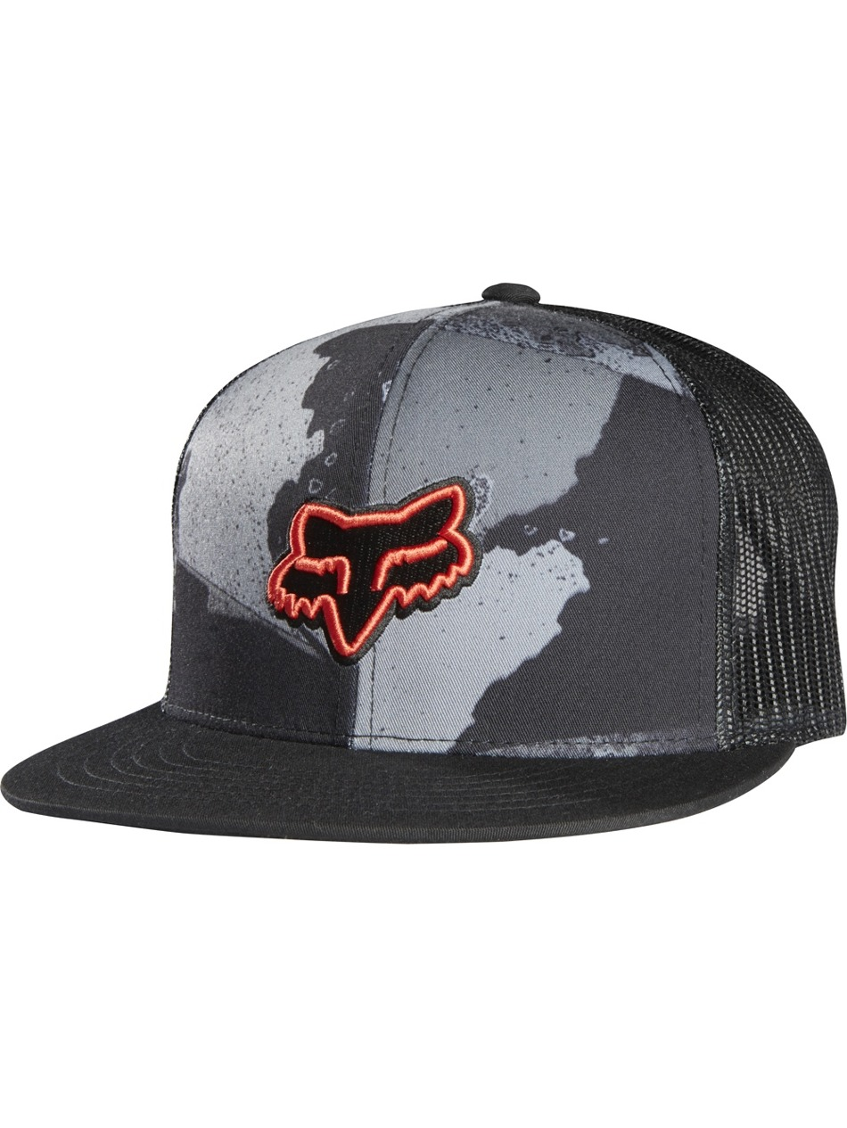 Kšiltovka Fox Carnage Camo Snapback Hat charcoal First Skateshop.cz cfe67ef088