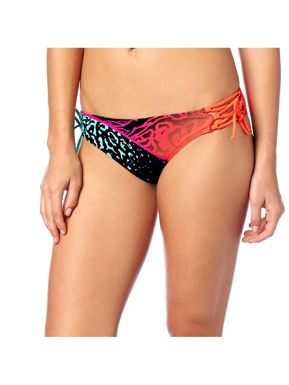 Dámské plavky Fox Chargin Lace Up Side Tie Bottom fuchsia First ... bfbc77537d