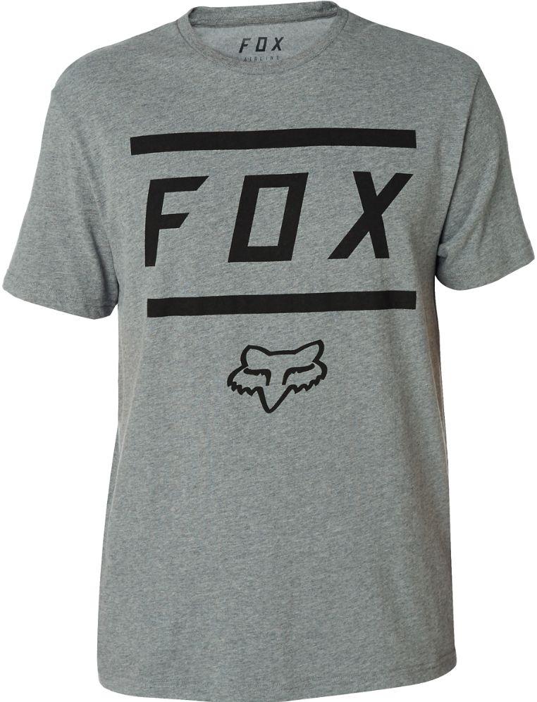 5e450e5205 Pánské tričko Fox Listless Airline Heather dark grey First Skateshop.cz