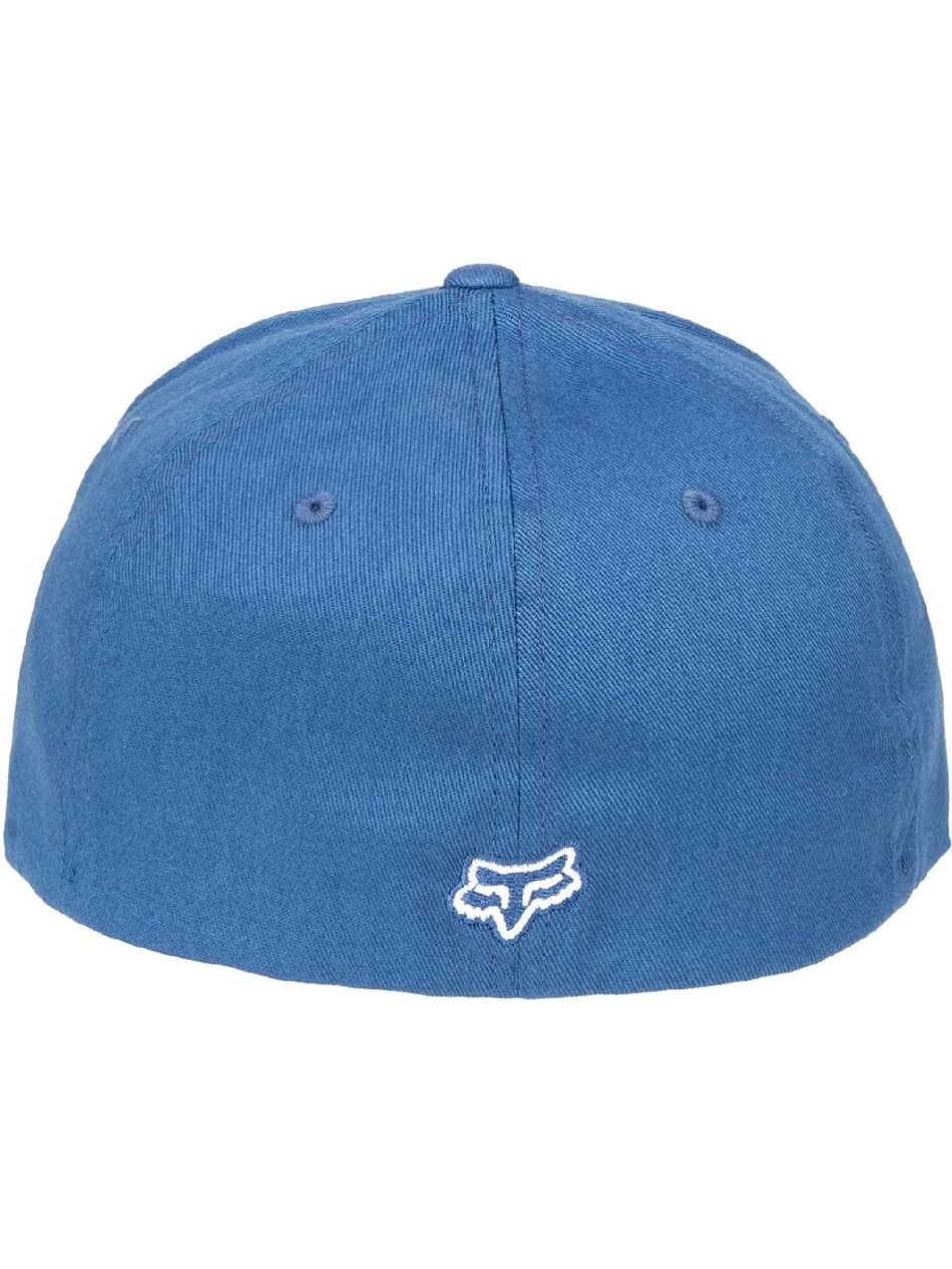 90d41fa0690 Kšiltovka Fox Legacy Flexfit dusty blue First Skateshop.cz