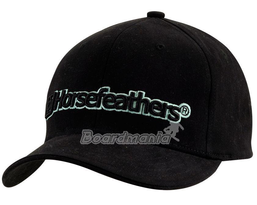 Dětská kšiltovka Horsefeathers Edge black First Skateshop.cz dbeaaa9891