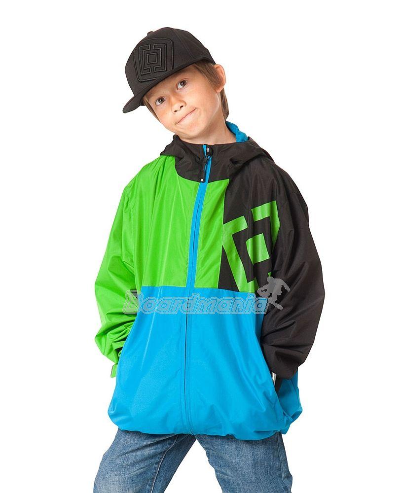5566c4216427 Dětská bunda Horsefeathers Fuse Kids green First Skateshop.cz