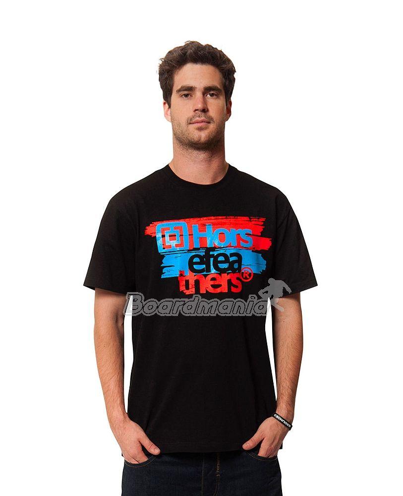 Pánské tričko Horsefeathers Plank black First Skateshop.cz dd3ce29b94