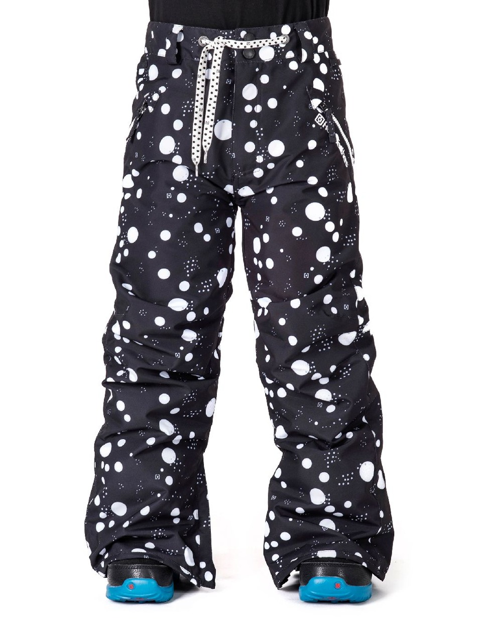 6a39f9b50ee2 Dětské snowboardové kalhoty Horsefeathers Shirley dots First ...
