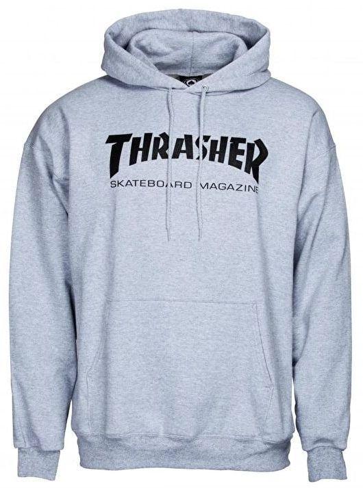 Pánská mikina Thrasher Skate Mag Hood grey First Skateshop.cz e929e944dcd