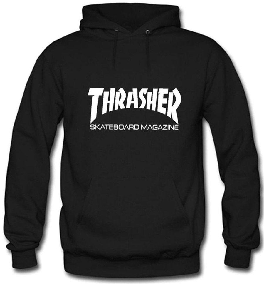 Pánská mikina Thrasher Skate Mag Hood black First Skateshop.cz 61122e68f36