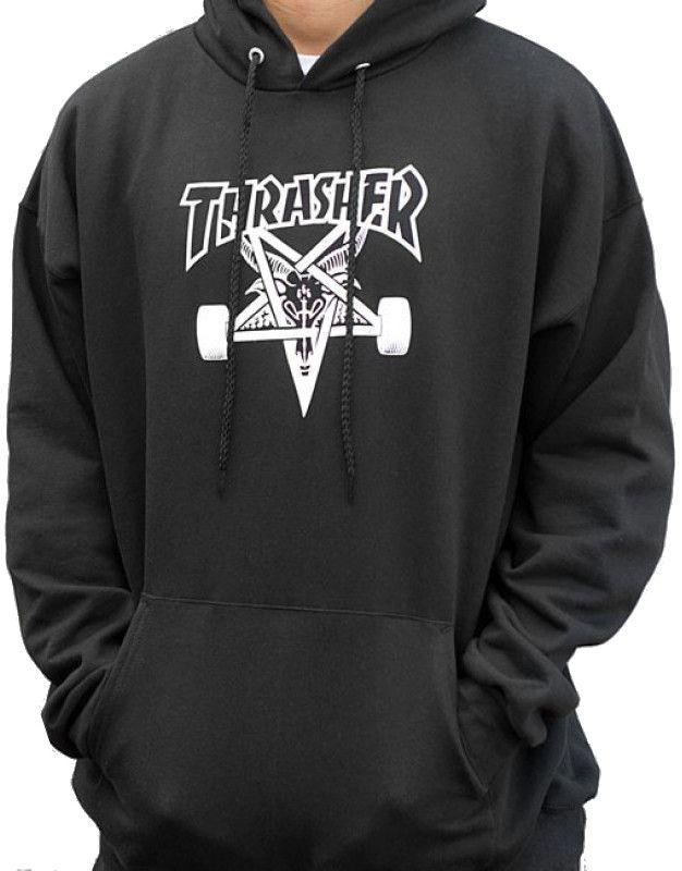 Pánská mikina Thrasher Skategoat Hood black First Skateshop.cz 52a1590586